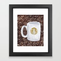 Coffee Time II Framed Art Print