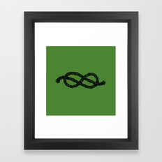 Common Rope Logo Framed Art Print