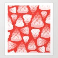 Strawberry Jelly Art Print