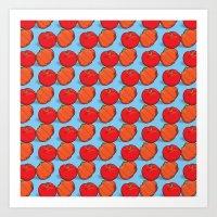 Brazil fruits Art Print