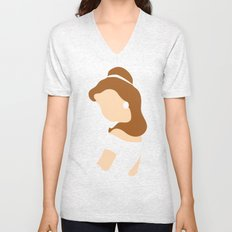 Belle - Beauty - Beauty and the Beast Unisex V-Neck