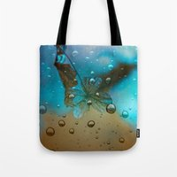 Rain Drops Keep Fallin Tote Bag