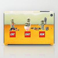 EAT SHIT RUN CYCLOPS LEGO iPad Case