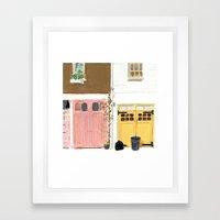EBURY MEWS Framed Art Print