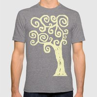 Jude's Tree Mens Fitted Tee Tri-Grey SMALL