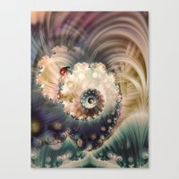Ladybird Lost Canvas Print