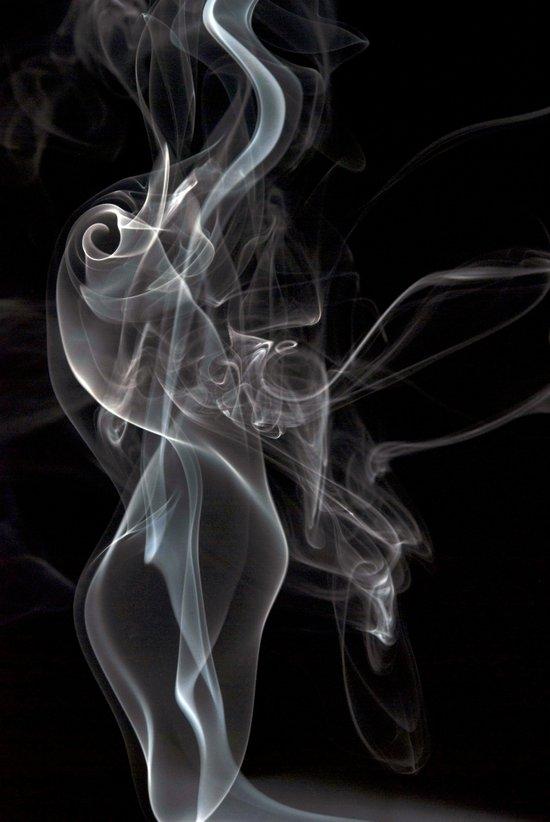 Smoke 2 Canvas Print