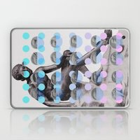 Statue With A Dot Gradie… Laptop & iPad Skin