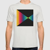 Tom Baker Mens Fitted Tee Silver SMALL