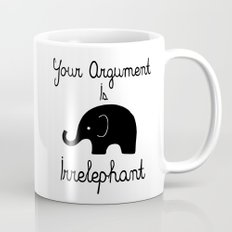 Your Argument Is Irrelep… Mug
