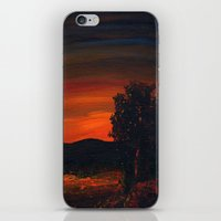 Fireflies at the Pond iPhone & iPod Skin