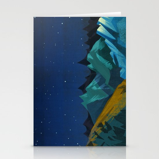 Blue Mountains Stationery Card