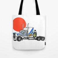 No Trouble In Little Jap… Tote Bag