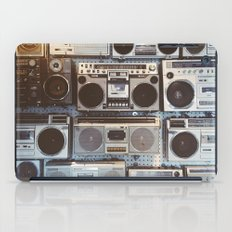 Boom boxes iPad Case