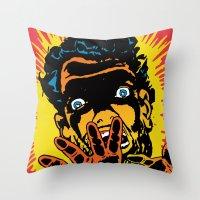 Devolve Throw Pillow