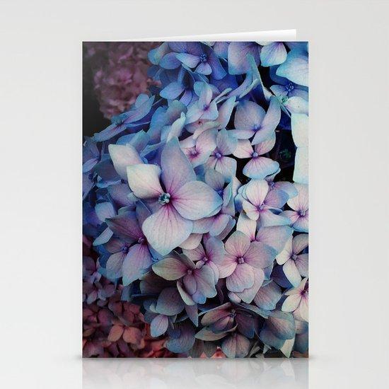 Hydrangea Stationery Card