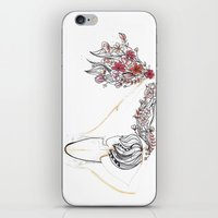 rose shower iPhone & iPod Skin