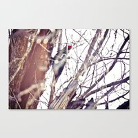 A Knock On My Morning's … Canvas Print