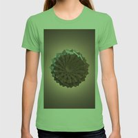 The Paper Flower Womens Fitted Tee Grass SMALL