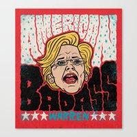 American Badass Canvas Print