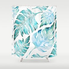 love tropical  Shower Curtain