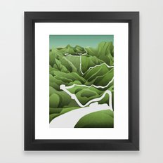China / Travel Collection Framed Art Print