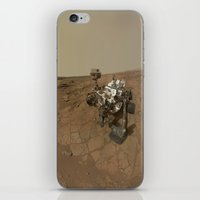 NASA Curiosity Rover's Self Portrait at 'John Klein' Drilling Site in HD iPhone & iPod Skin
