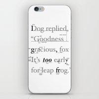 Goodness iPhone & iPod Skin