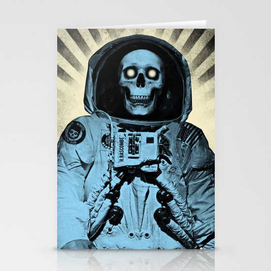 Punk Space Kook Stationery Card
