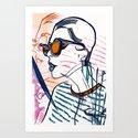 Stripes miscellaneous Art Print