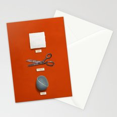 Paper, Scissors, Stone Stationery Cards