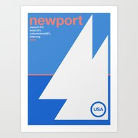 Newport Single Hop Art Print