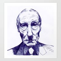 William S. Burroughs Art Print