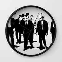 Walt's Protection Crew Wall Clock
