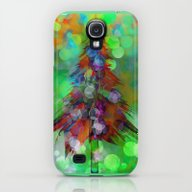 iPhone & iPod Case featuring Abstract Christmas Tree … by Klara Acel