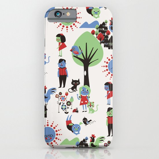 Beautiful day pattern iPhone & iPod Case