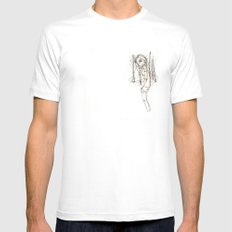 JANE (5) Mens Fitted Tee White SMALL