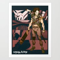 Scum Kicker Art Print