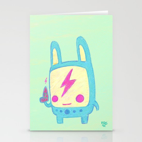 Baby Lemi the Space Wanderer Stationery Card