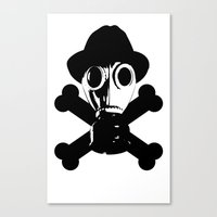 Man in the Mask Canvas Print