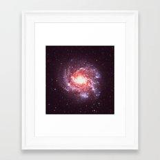 Star Attraction Framed Art Print