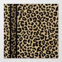 CLASSIC LEOPARD SKIN Canvas Print
