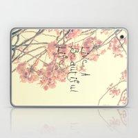 Live A Beautiful Life Laptop & iPad Skin