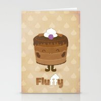 Fluffy Chocolate Mousse … Stationery Cards