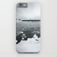 Ice on Lake Superior iPhone 6 Slim Case