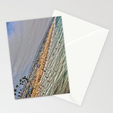 Beach Painting. Stationery Cards