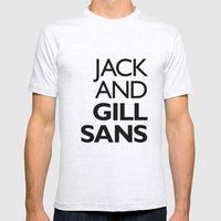 Jack and Gill Sans Mens Fitted Tee Ash Grey SMALL