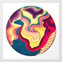 I Dream in Colors Art Print