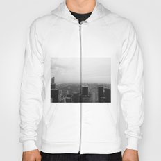 New York in Black and White Hoody