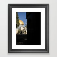 Doorway To The Dome Of T… Framed Art Print